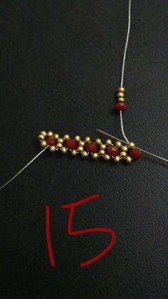 Imitation jewelry, imitation jewelry - Before After DIY Bead Jewellery, Seed Bead Jewelry, Wire Jewelry, Jewelery, Beaded Jewelry Patterns, Bracelet Patterns, Beading Patterns, Seed Bead Bracelets, Ankle Bracelets