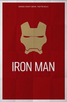 iron man minimal poster