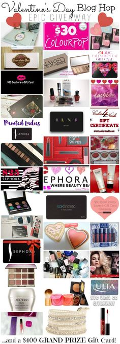 Enter the Valentine's Day Giveaway Blog Hop For A Chance To Win $400