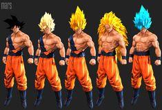 Goku (super saiyan), mars ... on ArtStation at https://www.artstation.com/artwork/goku-super-saiyan