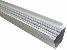 USA Made 1 ct White Aluminum Inside Gutter Corner Gutter Supplies