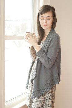 effortless : Quince and Company, American Wool Yarn shawl pattern