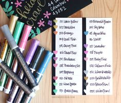 Kirarina Wink Markers & Decorating Envelopes // I NEED ALL OF THESE