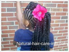 PLATS /  LITTLE GIRL HAIRSTYLES / BRAIDS / PROTECTIVE HAIRSTYLE / HAIRSTYLES / KIDS / BOW  / CORNROLLS / HAIRDO / UPDO / GIRL / TWIST HAIRSTYLE / NATURAL HAIRSTYLE / BEADS