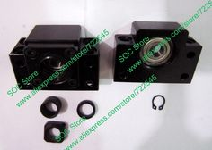 70.00$  Buy now - http://ali4pz.worldwells.pw/go.php?t=1666101059 - BK30 & BF30 Ballscrew End Support CNC Parts