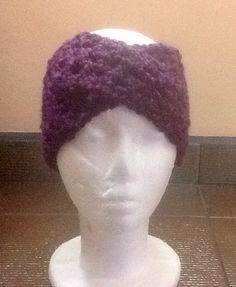 Banda en crochet para la cabeza Manualidades Mathelo