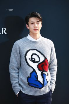 Keeping Up With supermOHdel SEHUN: attending Valentino and Moncler events Kyungsoo, Chanyeol, Kris Wu, Super Junior, Exo For Life, Rapper, Exo Ot12, Hunhan, Lord