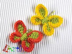 Crocheted Applique – Crochet Applique Embellishment – a unique product by HomeArtist on DaWanda