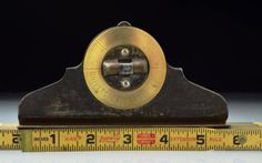 Universal-All-Angle-Level-Vintage-Made-in-New-York-USA-Brass-Rotating-Dial