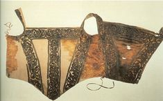 """""""Extant Clothing - Funeral Dress of Eleonora de Toledo."""" Bodice. Very pretty, (...though it does look like someone may have been murdered while wearing it...)"""