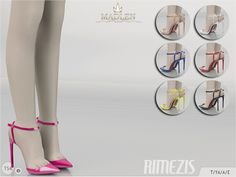 The Sims Resource: Madlen Rimezis Shoes by MJ95 • Sims 4 Downloads