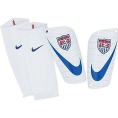 NIKE USA US SOCCER TEAM MERCURIAL LITE SHINGUARD FOOTBALL SOCCER 2014