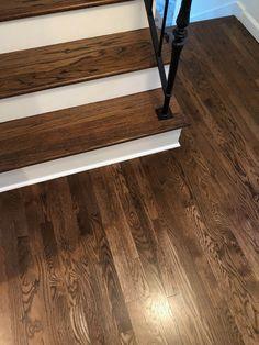 Original 1925 White Oak Floors Stains Starting From Left