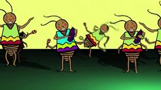Yes - this is the silly dancing cockroach video! They dance and play maracas and guiros! Check out more multicultural musical fun from award-winning children. Elementary Spanish, Elementary Music, Teaching Spanish, Spanish Songs, Spanish Lessons, Spanish Games, Spanish Class, Music For Kids, Kids Songs