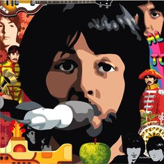 Paul McCartney & the Beatles Norman Rockwell, Monet, Beatles Party, Play That Funky Music, Beatles Photos, The Eighth Day, The Fab Four, Shows, Cultura Pop