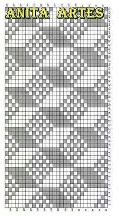 Trendy Ideas For Crochet Patterns Tapestry Knitting Charts Filet Crochet Charts, C2c Crochet, Knitting Charts, Knitting Stitches, Tapestry Crochet Patterns, Bead Loom Patterns, Cross Stitch Patterns, Fillet Crochet, Cross Stitch Embroidery