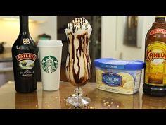 Turtle Coffee Milkshake - YouTube
