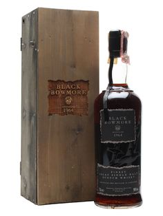 The first edition of the legendary Black Bowmore - distilled in 1964 and matured in oloroso casks for 29 years before being unleashed on the world. Only 2000 bottles of this were released and there...