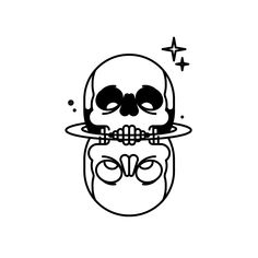 Animated tattoos with After Effects. Concept and illustration by Bnomio and at last but not least the magic by Manu Veiras Creepy Tattoos, Skeleton Tattoos, Skeleton Art, Tattoo Sketches, Tattoo Drawings, Dessin Old School, Image Deco, Old School Tattoo Designs, Doodle Tattoo