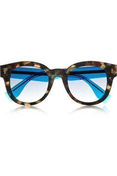 06b482daf1a D-frame acetate sunglasses - Fendi Fendi Glasses