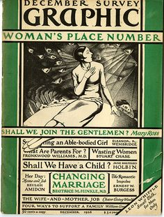 Magazine from the 1920s, the full link has several great spreads pictured as well