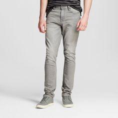 Men's Slim Fit Jeans Grey Wash