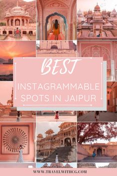 Jaipur, a city so charming that every corner speaks about mesmerising architecture that can sometimes be overwhelming too. If you are planning to visit Jaipur soon, then these are ALL THE SPOTS you need to cover during your time here! India Travel Guide, Asia Travel, Travel Vlog, Travel Tips, Places To Travel, Travel Destinations, Travel Stuff, Jaipur Travel, Palace
