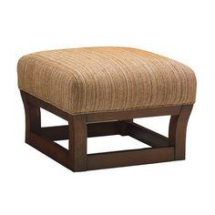 Tommy Bahama Home Island Fusion Leather Ottoman