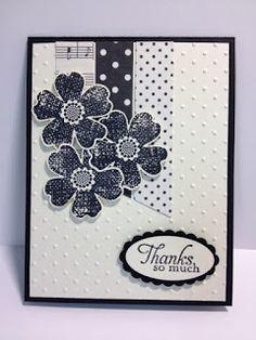 My Creative Corner!: A Monochromatic Flower Shop Thank You