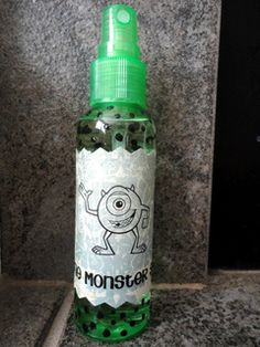 DIY Monster Spray an amazing idea for the kids!