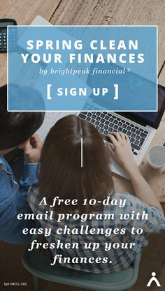Sign up for a fun and easy challenge to freshen up your finances in 10 days. Clear out the financial clutter weighing you down!