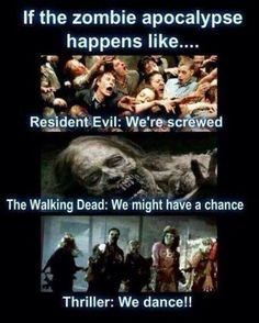 If the zombie apocalypse happens like