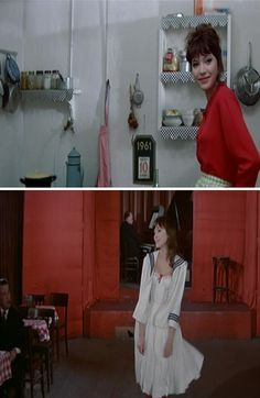 Love the film and Anna Karina (A Woman is a Woman @Design*Sponge)