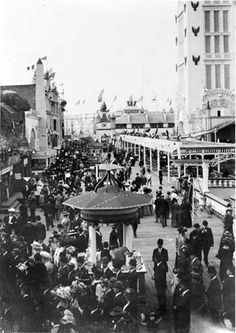 Old Coney Island | Old Coney Island New York Photo - DREAMLAND BOARDWALK