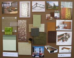 Interior Design Concept Development Boards   Duong Designs » Office Concept – Floorplan & Material Board