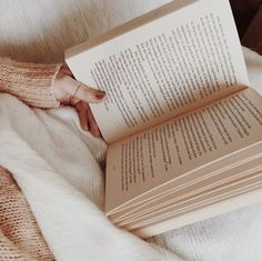 Reading curled up in a blanket is the best