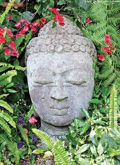 Martyn Lawrence-Bullard: Live, Love, and Decorate Bali, Buddha Decor, Head Planters, Garden Styles, Interiores Design, Bird Houses, All Pictures, Garden Sculpture, Artsy
