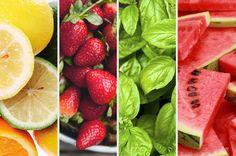 Fazer água com sabores naturais em casa