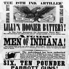18th Indiana Battery Poster