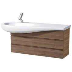 laufen il bagno alessi one waschtischunterbau 99 5 cm mit waschtischablage rechts h4245200976301 megabad