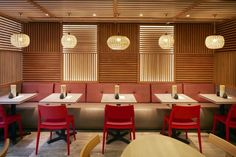 lightviews Dim T Asian Restaurant by Design Command, London – UK Japanese Restaurant Interior, Oriental Restaurant, Restaurant Plan, Restaurant Interior Design, Chinese Restaurant, Tokyo Restaurant, Chinese Interior, Japanese Interior Design, Asian Design