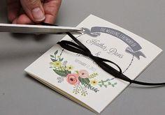 Bodas con detalle - Blog especializado en bodas | por Rebeca Ruiz: Programa de boda imprimible gratis
