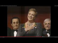 """JULIE ANDREWS """"HONOREE"""" (COMPLETE), 24th KENNEDY CENTER HONORS, 2001 (90) - YouTube"""