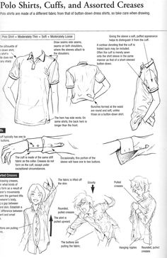 Polo creases and cuffs