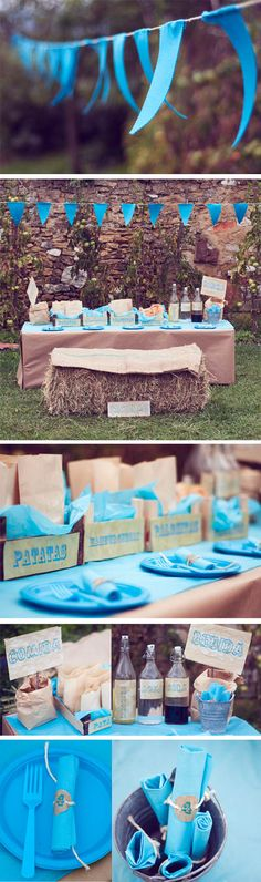 Turquoise Western Party, Part I
