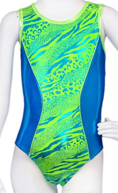 Destira: Amazon Lime Leotard #leotards #gymnastics