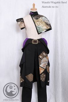J mix Arty Fashion, Kimono Fashion, Fashion Design, Kabuki Costume, Cool Outfits, Fashion Outfits, Character Outfits, Apparel Design, Outerwear Women