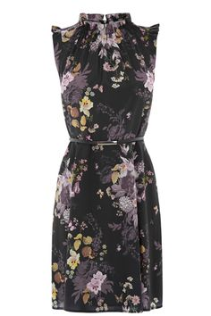The Winter Floral Dress