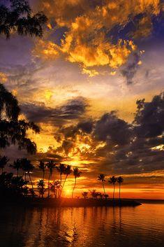 O belo mundo de meu Deus.  Fotografia feita em Islamorada