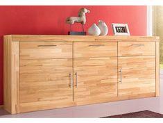 Komody buk - Masiv-Prodej.cz Industrial Interior Design, Komodo, Sideboard, Modern, Dresser, Beige, Cabinet, Storage, Furniture